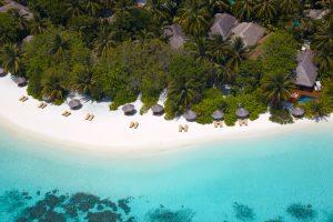 Maldivas: lugares de interés - Playa de Maldivas