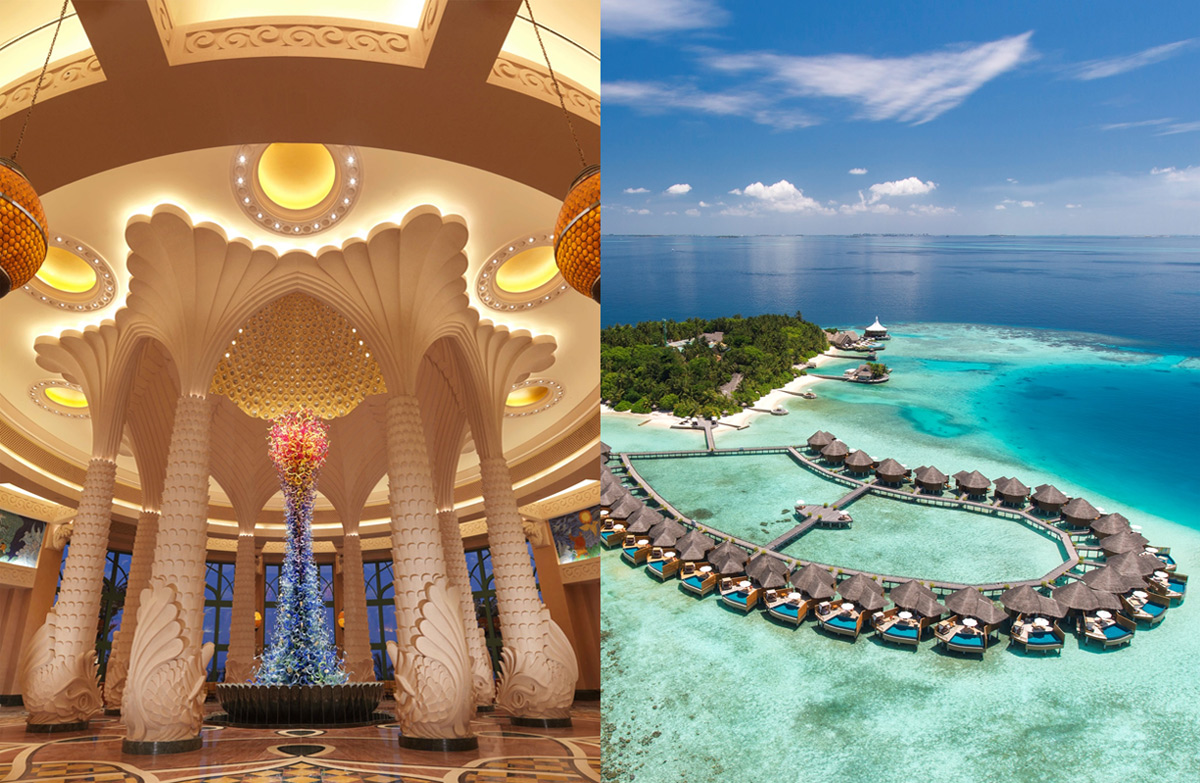 combinado Dubai y Maldivas