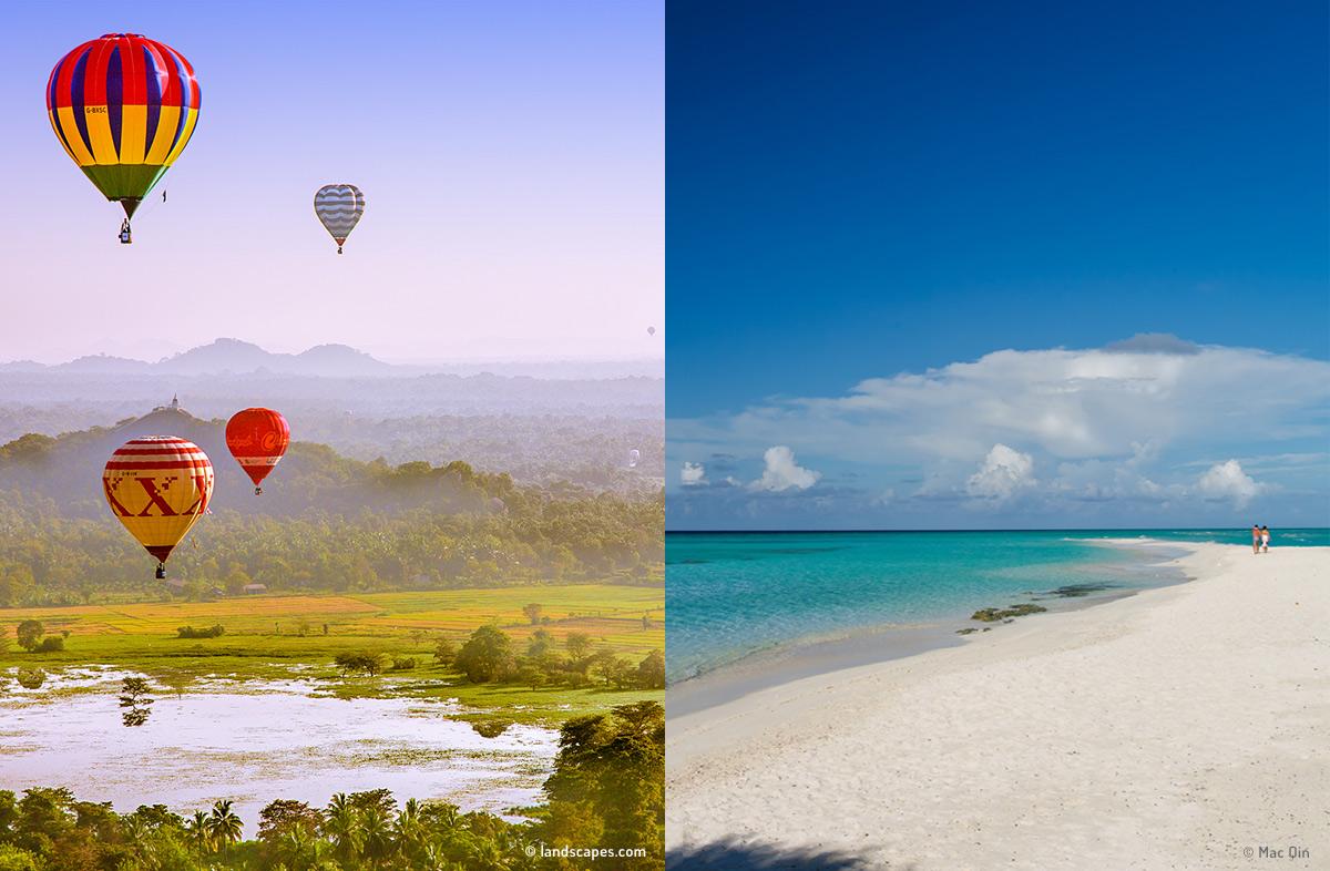 Combinado Sri Lanka y Maldivas