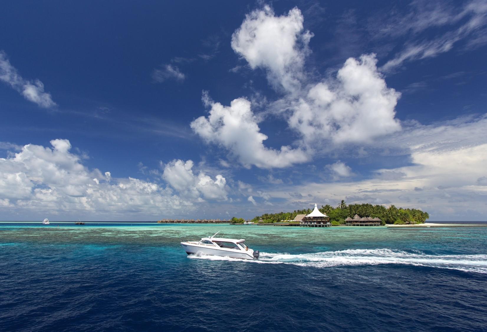 navidad en Maldivas