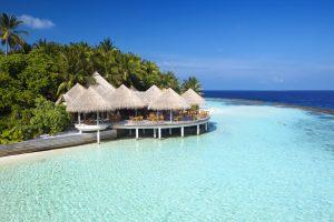 Sushi en Maldivas