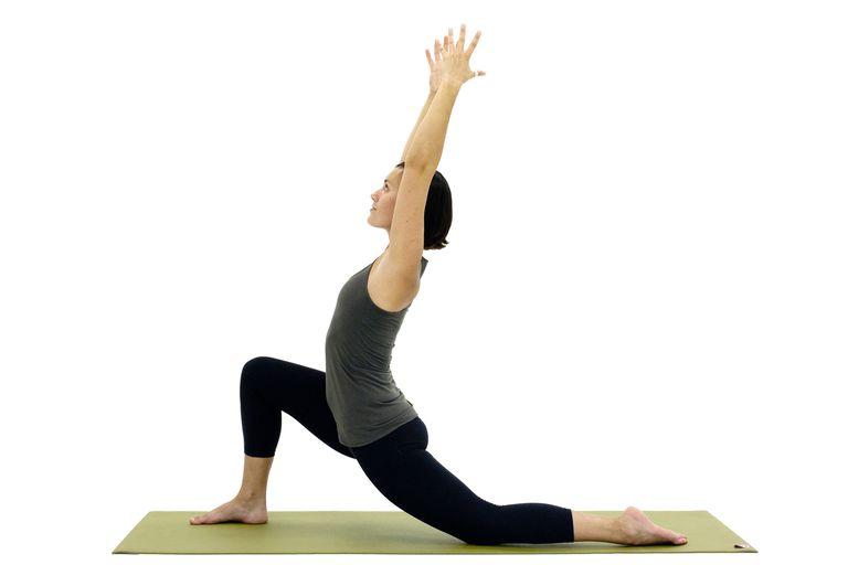 Postura de yoga para complementar masaje